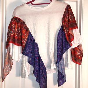 Pull and bear handkerchief T-shirt